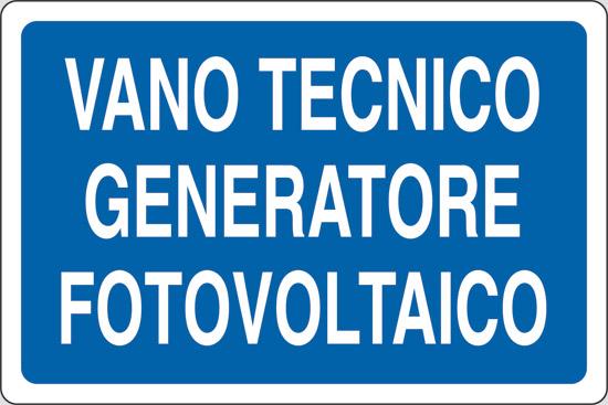 VANO TECNICO GENERATORE FOTOVOLTAICO