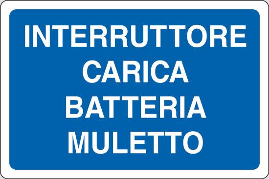 INTERRUTTORE CARICA BATTERIA MULETTO