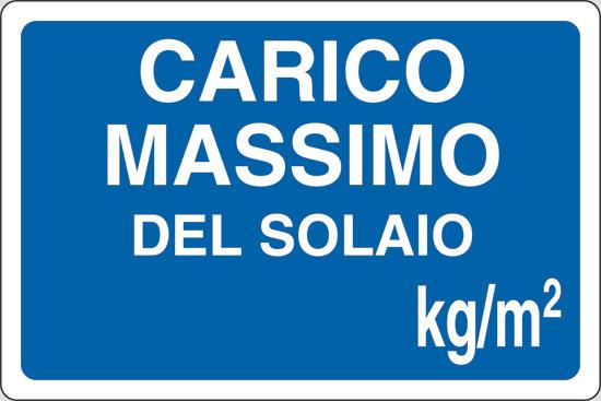 CARICO MASSIMO DEL SOLAIO kg/mq