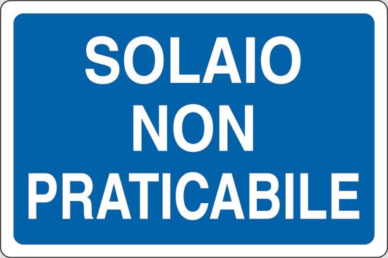 SOLAIO NON PRATICABILE