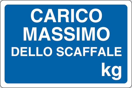 CARICO MASSIMO DELLO SCAFFALE Kg