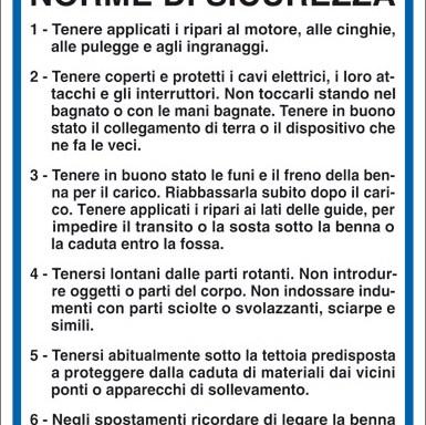 BETONIERE NORME DI SICUREZZA