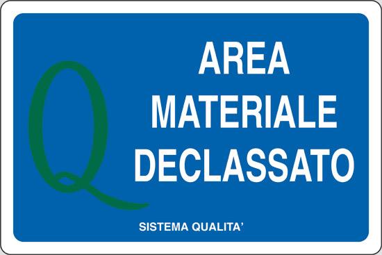 AREA MATERIALE DECLASSATO