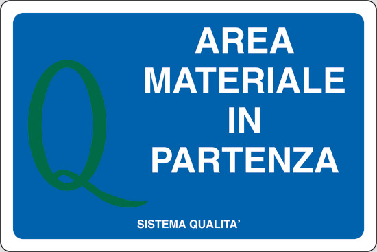 AREA MATERIALE IN PARTENZA