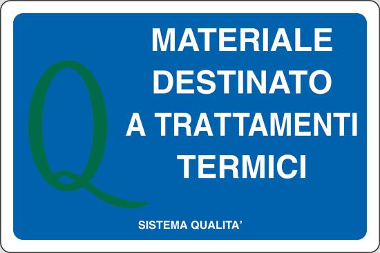 MATERIALE DESTINATO A TRATTAMENTI TERMICI