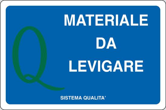 MATERIALE DA LEVIGARE