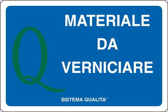 MATERIALE DA VERNICIARE
