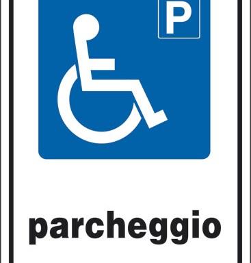 P PARCHEGGIO (disabili)