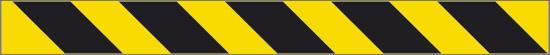 Rifrangente (fasce giallo nere)