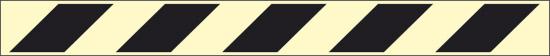 nera (indicazione di zone di pericolo ed ostacoli – con antiscivolo)