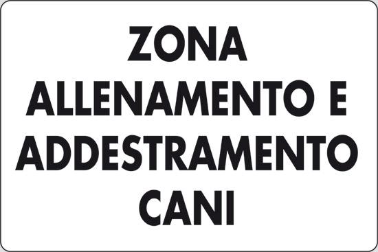 ZONA ALLENAMENTO E ADDESTRAMENTO CANI