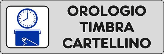 OROLOGIO TIMBRA CARTELLINO