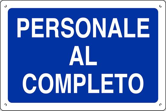 PERSONALE AL COMPLETO