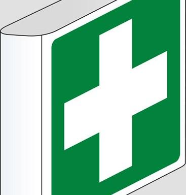 (pronto soccorso – first aid) a bandiera