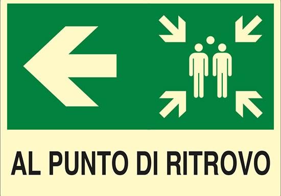 AL PUNTO DI RITROVO luminescente