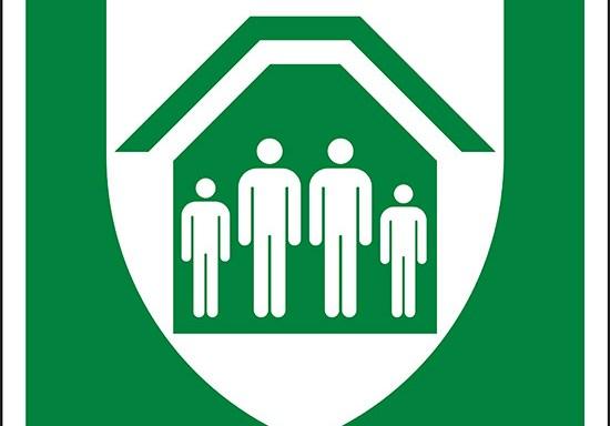 (rifugio di protezione – protection shelter)