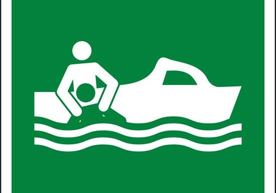 (imbarcazione di salvataggio – rescue boat)