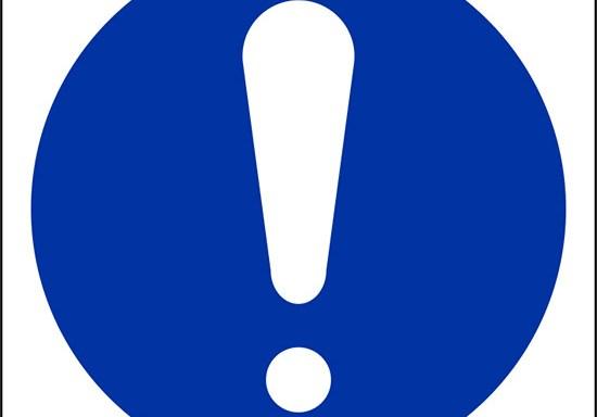 (obbligo generico – general mandatory action sign)