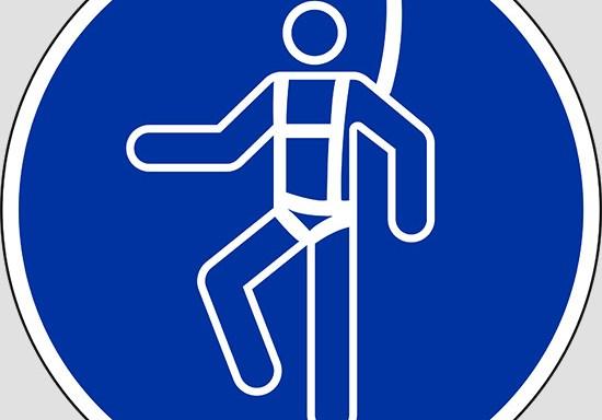 (wear a safety harness)
