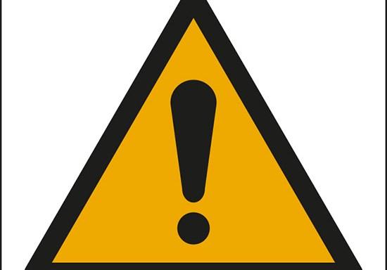 (pericolo generico – general warning sign)