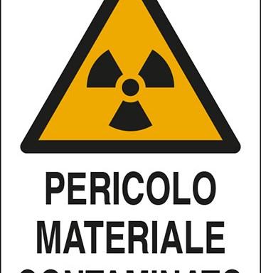 PERICOLO MATERIALE CONTAMINATO