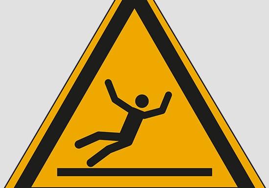 (warning: slippery surface)