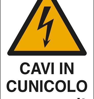 CAVI IN CUNICOLO volt