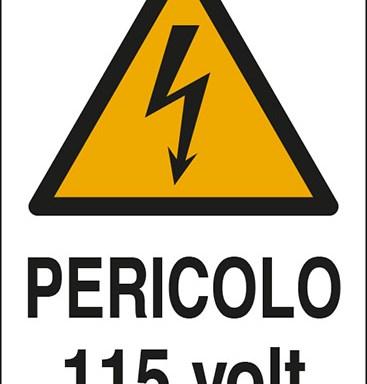 PERICOLO 115 volt