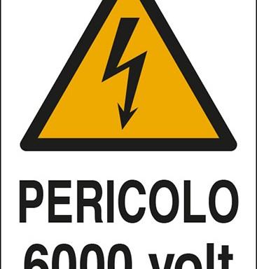 PERICOLO 6000 volt