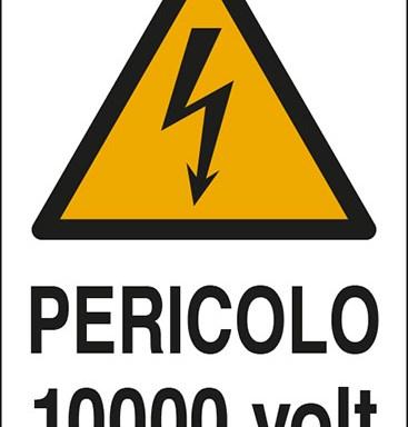 PERICOLO 10000 volt