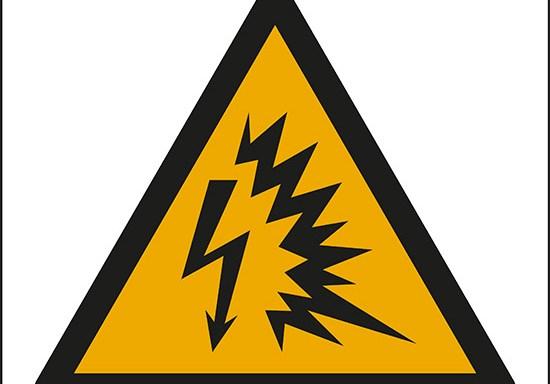 (avviso; arco elettrico – warning; arc flash)