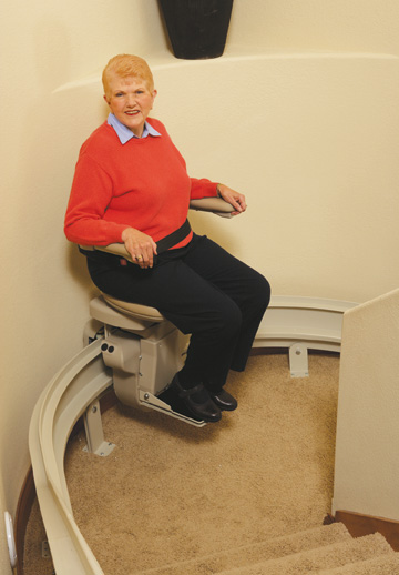 sit to stand chair lift bedroom rattan used los angeles scooter wheel harmar stairlifts
