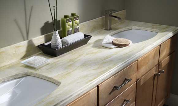 corian kitchen countertops unassembled cabinets wholesale a-american contractors :