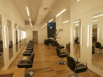 Alinea LED sconces used in Rheanne White SalonSoho NY