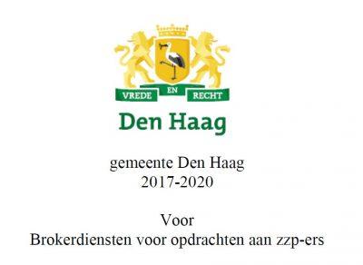 Den Haag koopt brokers in tegen ZZP'ers