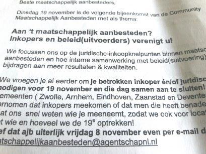 Open house aanbesteden zorg Eindhoven: woekerwinsten nieuwe zorgbedrijven