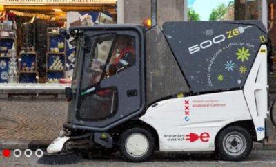 Politici Amsterdam willen CO2 toch meewegen bij inkoop veegwagens