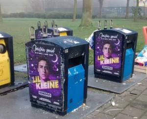 Illegale wildplak niet op zich ernstige beroepsfout - reclame Groningen