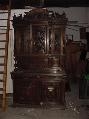 Antieke Henry Deux Kast  1870 Kopen  Stoelen en Banken