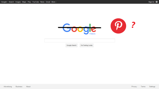 Is Pinterest next search engine?