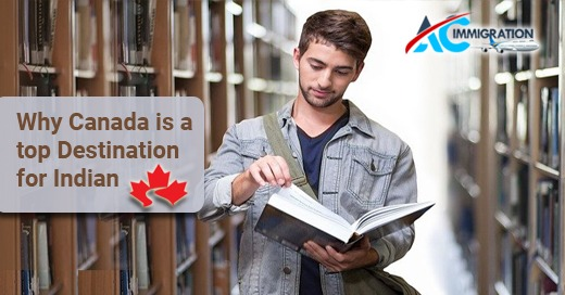 Canada is a top destination for Indian
