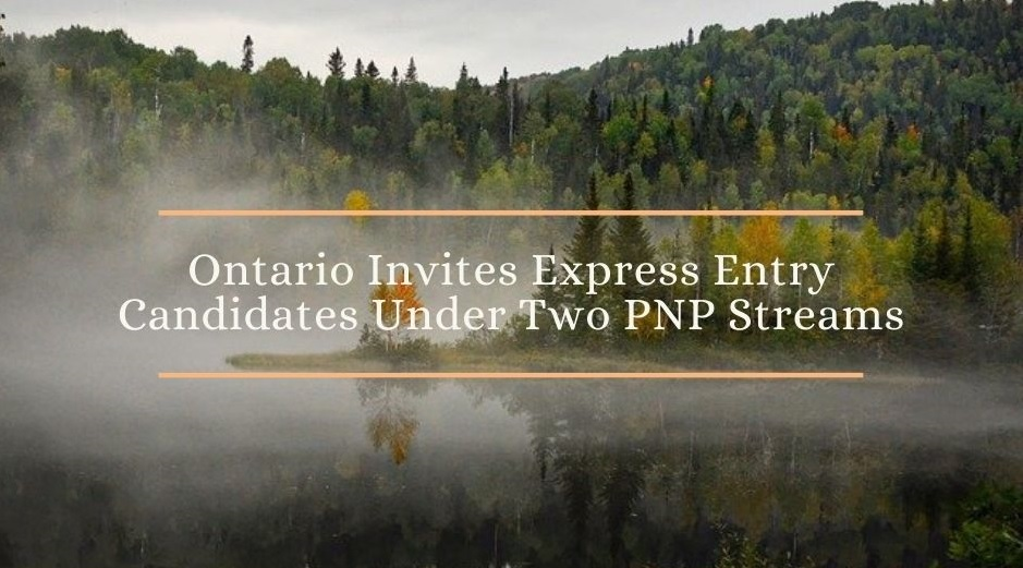 ontario invites express entry candidates