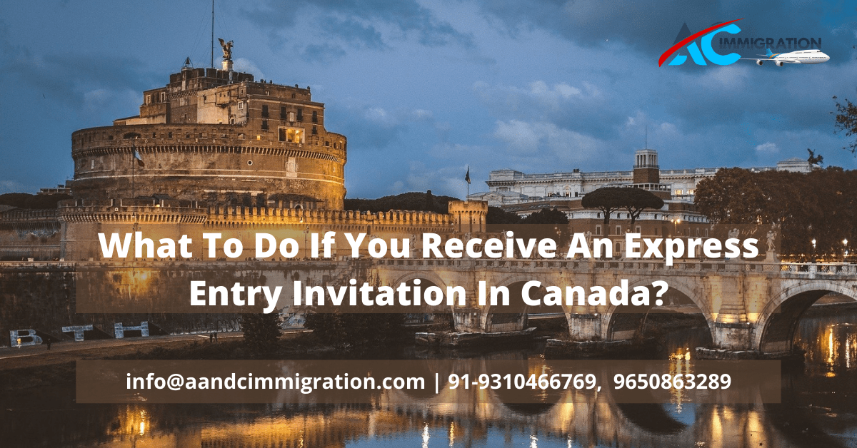 Receive An Express Entry Invitation In Canada