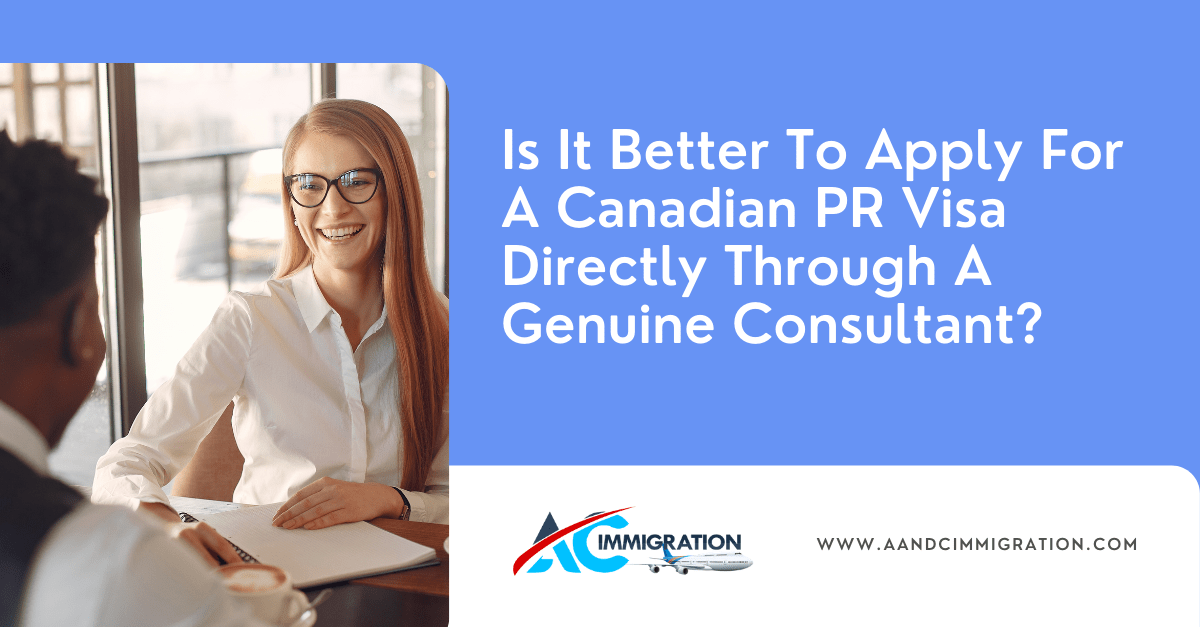 Apply For A Canadian PR Visa Directly