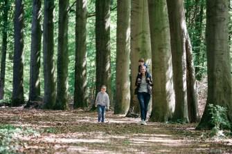 Heerlijk wandelen door bos en veld