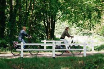 U kunt goed fietsen in de omgeving