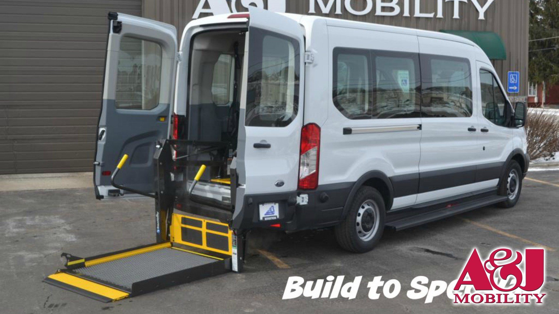 Wheelchair Van For Sale  2016 Ford Transit Wagon