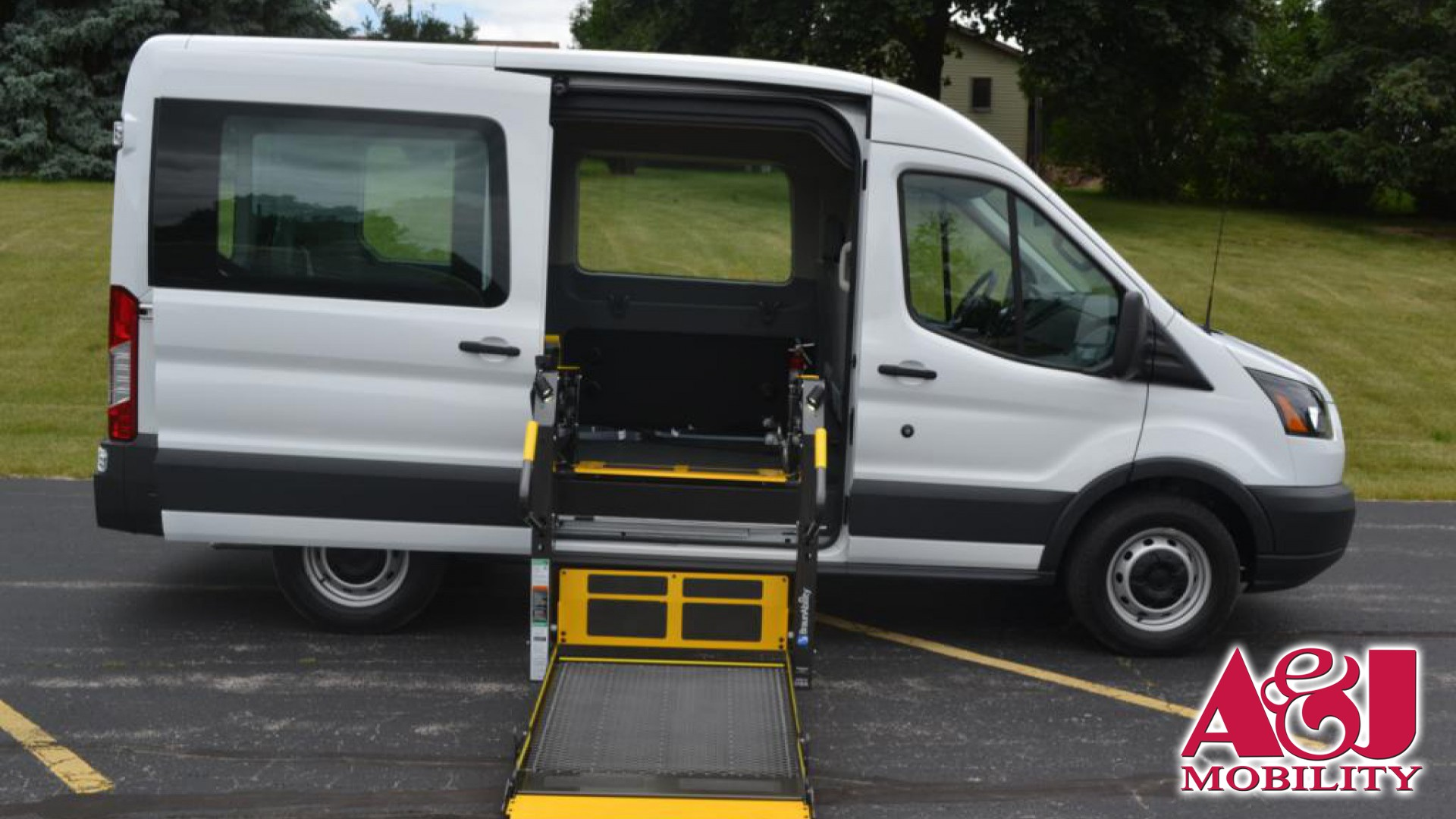 Wheelchair Van For Sale  2018 Ford Transit Wagon  Stock