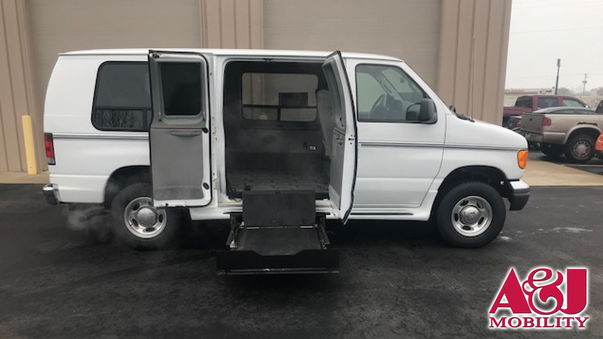 hight resolution of 2007 ford econoline cargo conversion