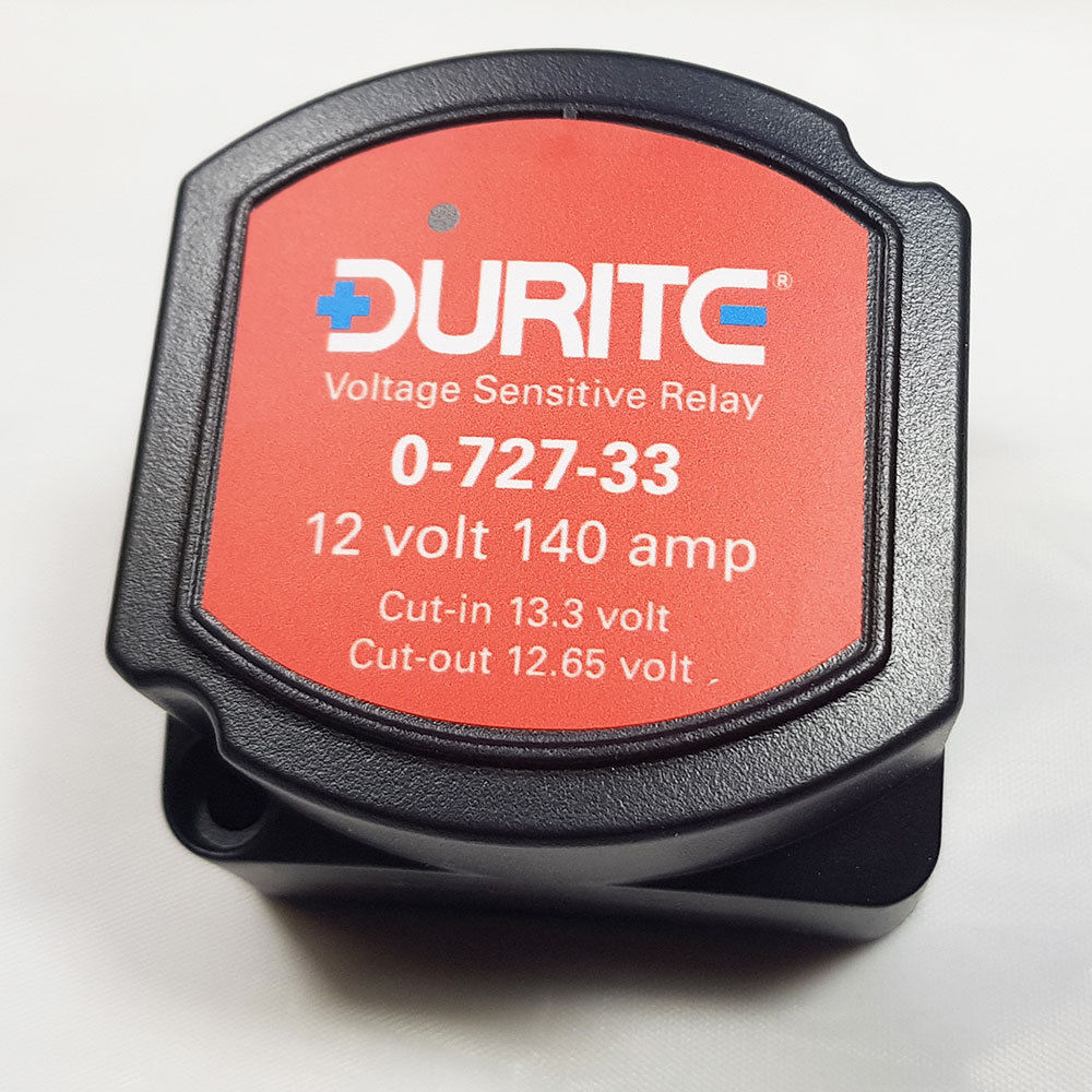 medium resolution of see this example of a durite unit showing the cut in and cut out voltages values printed on the label